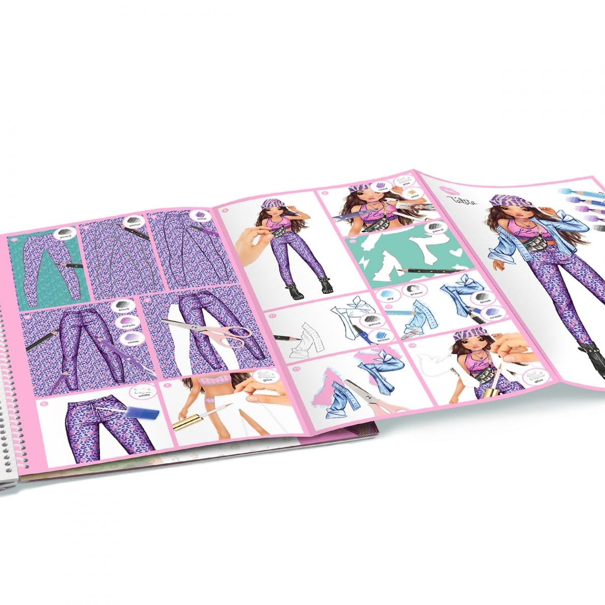 TOPModel Libro para colorear especial