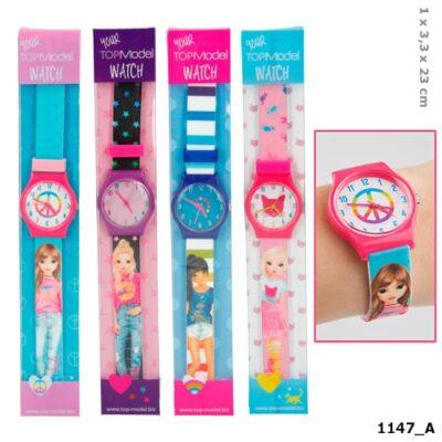 Top Model Reloj Fashion – Fucsia