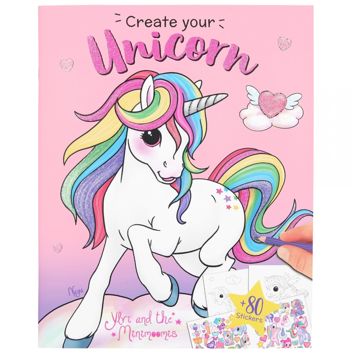 Ylvi Cuaderno Create your Unicorn