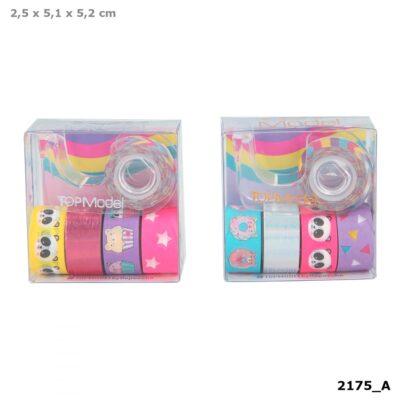 Deko Tape TOPModel oro (cinta adhesiva de decoración) – Lila