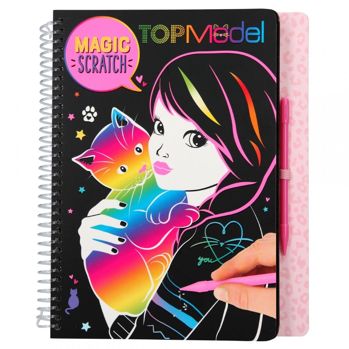 TOPModel Magic-Scratch Book CATALÀ