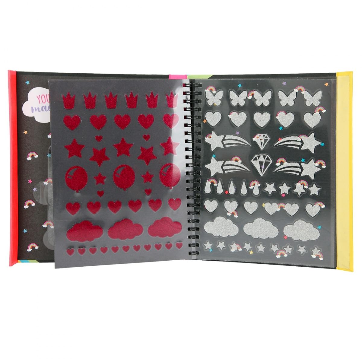 Ylvi Libro de colorear con rotuladores neón