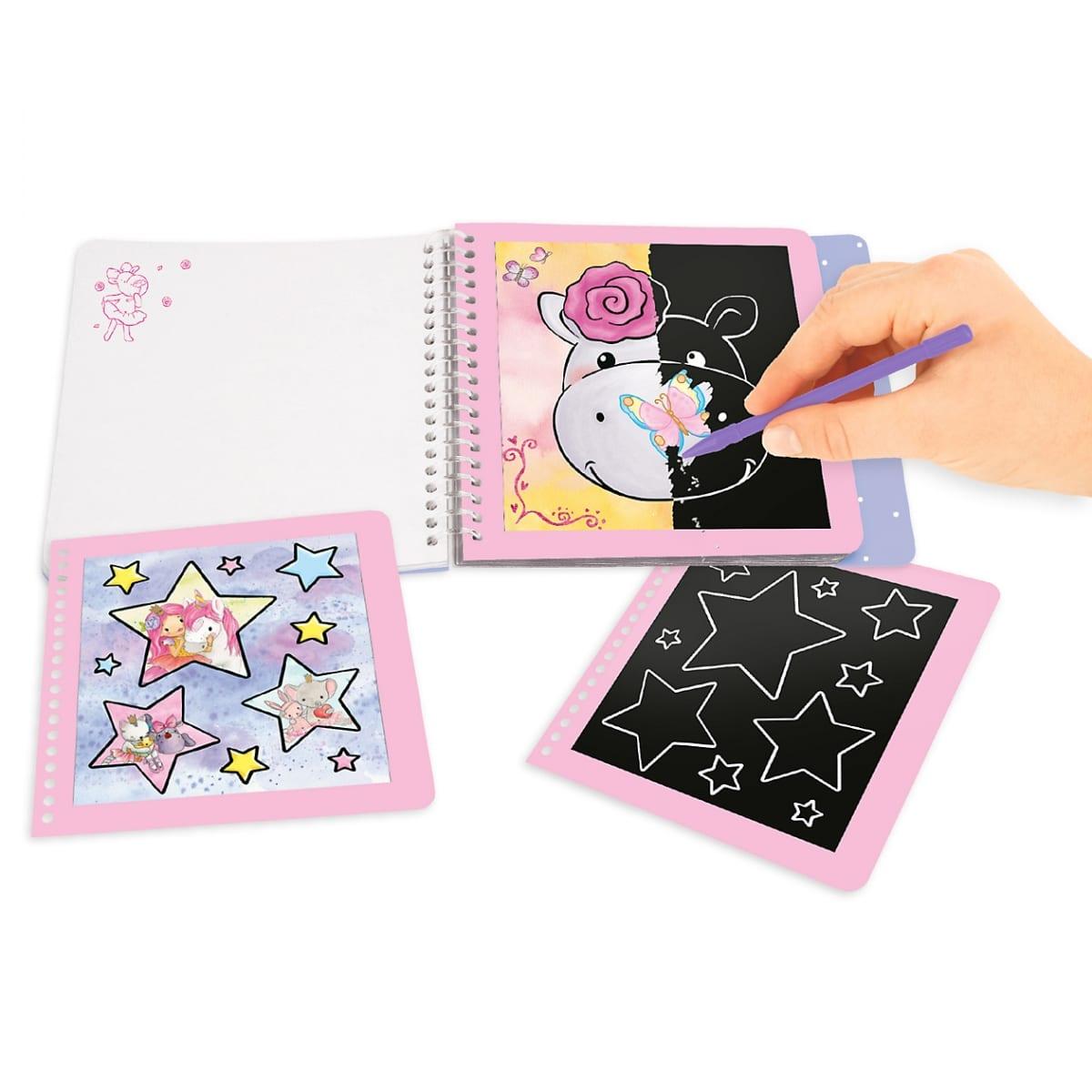 Princess Mimi Mini Magic-Scratch Book