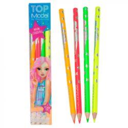 Estuche con 4 lápices fluorescentes TOPModel